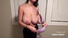 TheJenicca nude reveal her huge boobs